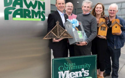 Dawn Farms partner with Naas Community Men's Shed